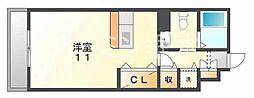 パークハイム参番館B棟[1階]の間取り