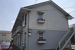 神奈川県秦野市西田原の賃貸アパートの外観