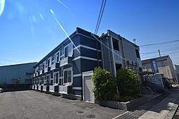 大阪府富田林市若松町東2丁目の賃貸アパートの外観