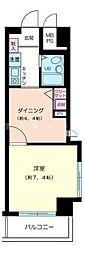 神奈川県横浜市南区白妙町3丁目の賃貸マンションの間取り
