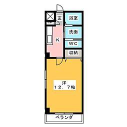 クールドノール[3階]の間取り