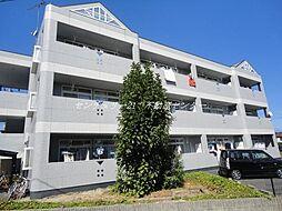 岡山県岡山市中区長岡の賃貸マンションの外観