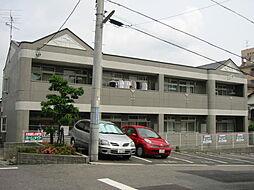 愛知県豊明市新栄町7丁目の賃貸アパートの外観
