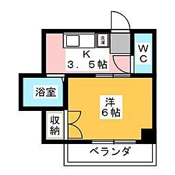ナガヤハイツ[3階]の間取り