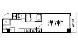 Comfort[702号室]の間取り