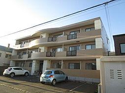 北海道札幌市東区北三十八条東6丁目の賃貸マンションの外観