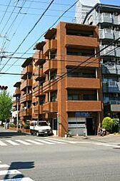 大阪府大阪市平野区長吉川辺2丁目北の賃貸マンションの外観
