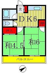 渡辺マンション[1階]の間取り