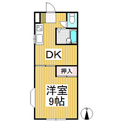 ルミネK 北棟[2階]の間取り