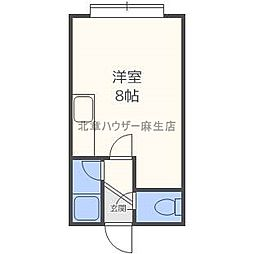 第2恵マンション[1階]の間取り