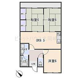 第1原田ビル[3階]の間取り