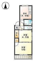 ナゴヤ聖マンション[3階]の間取り