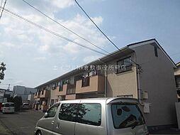 岡山県倉敷市水島東川町の賃貸アパートの外観