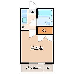 メゾンM10[1階]の間取り