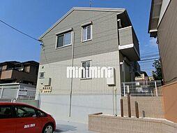 愛知県名古屋市緑区境松1丁目の賃貸アパートの外観