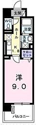 アプローズ[8階]の間取り