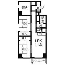 南平岸駅 5.9万円