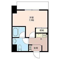 グラティチュード武蔵小杉[5階]の間取り
