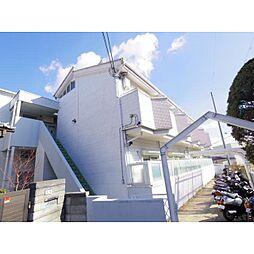 奈良県奈良市富雄川西の賃貸アパートの外観