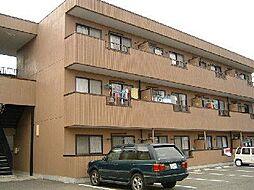 山梨県甲府市後屋町の賃貸アパートの外観