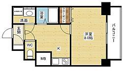 クレアート新大阪セレニティ[4階]の間取り