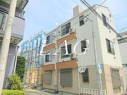 東京都板橋区中丸町の賃貸アパートの外観