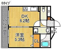 シーガルマンション[5階]の間取り