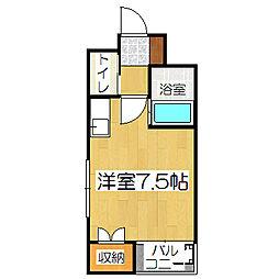 TAISEI都[4階]の間取り