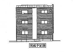 ドミール関空弐番館[2階]の外観
