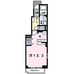 レイベルポート松元C棟[1階]の間取り