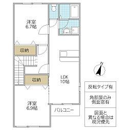 イーストピアTSUKUBA II[203号室号室]の間取り