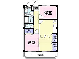 紫峰[4階]の間取り
