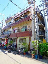 大阪府大阪市東住吉区北田辺5丁目の賃貸マンションの外観
