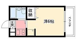 エクセレント武庫川[207号室]の間取り