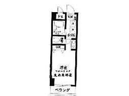 ビラ・エトワール[1階]の間取り