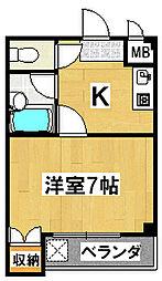 メゾン阪本[3階]の間取り