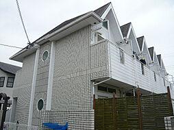 大阪府高槻市登美の里町の賃貸アパートの外観