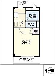 ハイム大樹[1階]の間取り