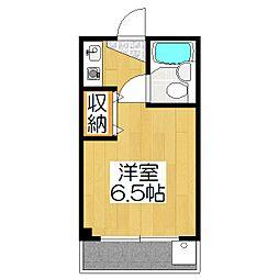 エスポワール[302号室]の間取り