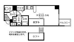 KATAYAMA BLDG21[904号室]の間取り
