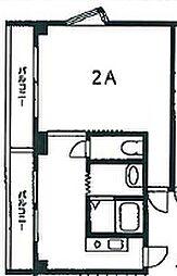 サングリーン大久保[2階]の間取り