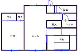 タナビキビル[5階]の間取り