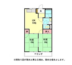 愛知県小牧市大字小松寺の賃貸マンションの間取り