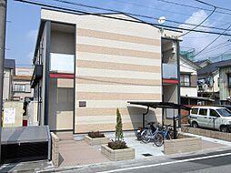 埼玉県蕨市北町3丁目の賃貸アパートの外観