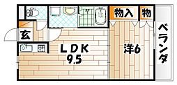 プランドール・K[2階]の間取り