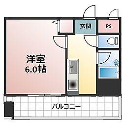 木川東エクセルハイツ[7階]の間取り