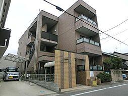 愛知県稲沢市北市場町東玄野の賃貸アパートの外観