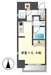 香取町PJ[6階]の間取り