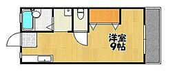 サンシティJUN[1階]の間取り