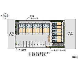 矢田駅 0.9万円